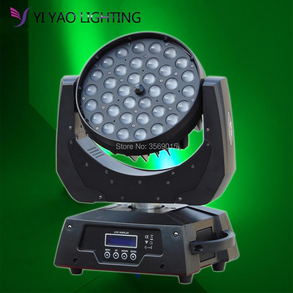 led zoom wash moving head light 36x12w Dmx512 strobe for spot light