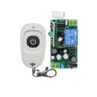 RF Lamp LED Bulb Remote Lighting Switch White Waterproof Transmitter Outdoor Lighting Wireless Switch AC110V 220V