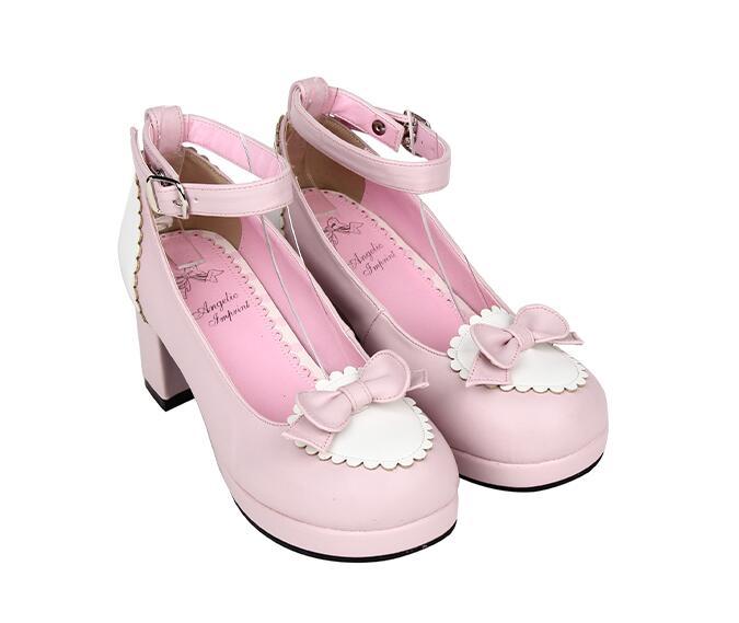 White Robe pink Mori À La Black Pink Plate Princesse Chaussures 6 8cm 5cm 5cm 47 Lady Angéliques Main Lolita Haute brown Mentions Femme 6 Légales Pompes Fille Talons forme Cosplay Femmes fqwYCH