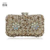 Xiyuan бренд Для женщин синий зеленый Вечерние сумки женские цвета: золотистый, Серебристый Красные свадебные сумочки для вечеринок кошельки
