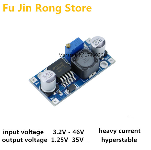 original 5pcs lm2596s dc dc lm2576 step down power supply module rh aliexpress com