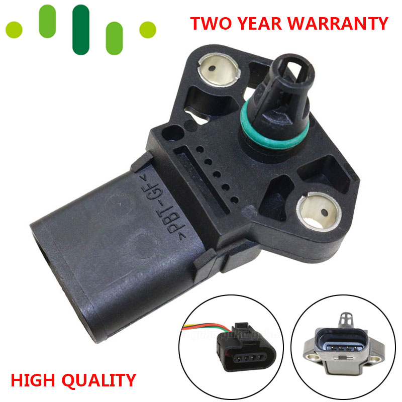2.5 Bar Turbo 0 281 002 399 Map Manifold Pressure Sensor 038906051B For VW Lupo GOLF IV PASSAT B5 POLO 1.4 1.6 1.9 2.0 2.5 TDI-in Pressure Sensor from Automobiles & Motorcycles