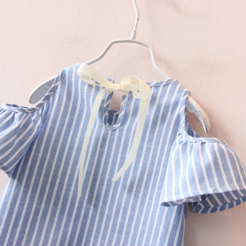 Hurave-Casual-Baby-Girl-Clothes-Summer-Dress-2017-Fashion-Girls-Cotton-Striped-Dresses-Children-Clothes-Girl-Vestidos-Robe-Fille-5