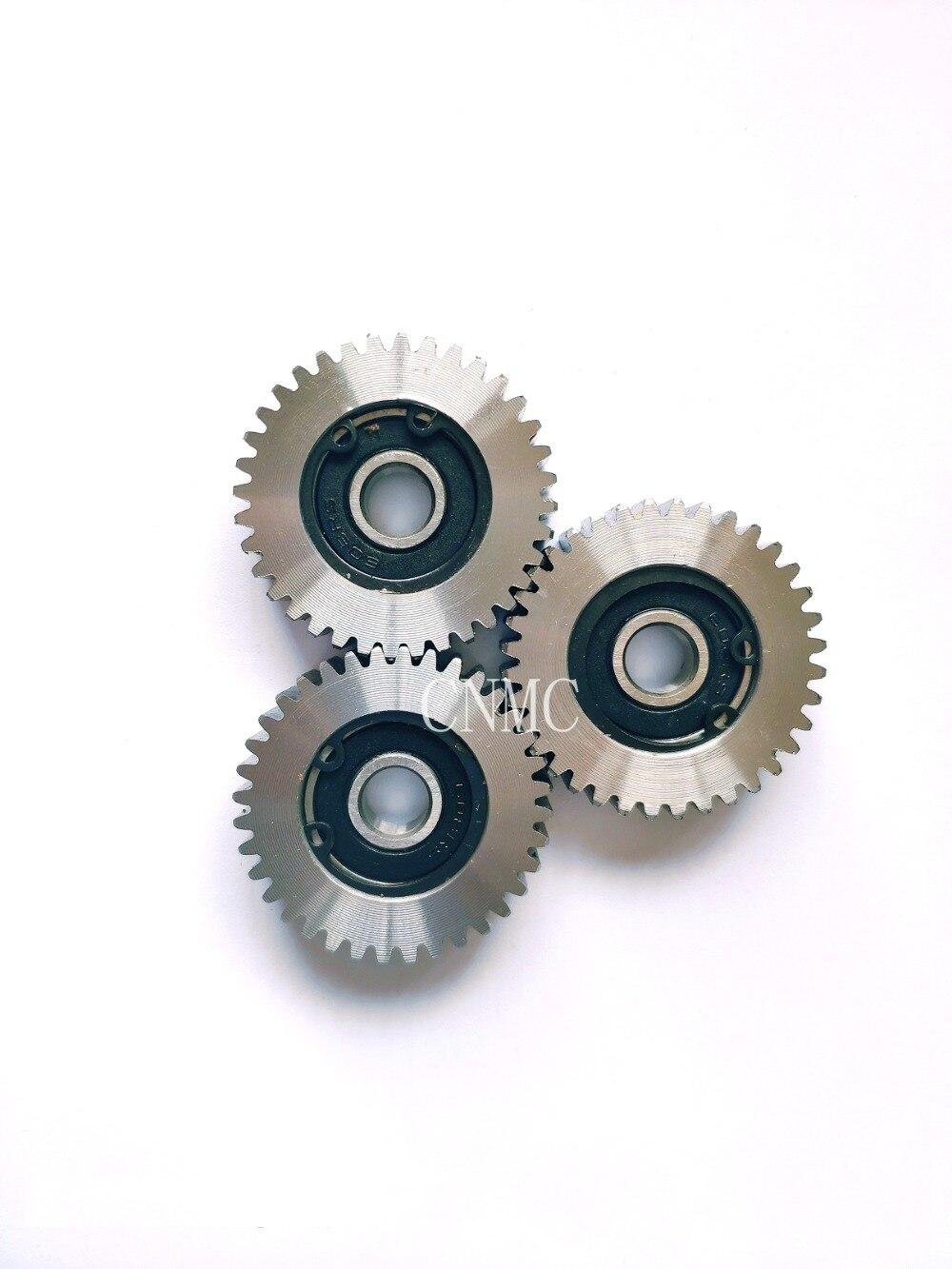 3Pcs//set Electric Bike Bicycle 36T Steel Motor Gear For Bafang Motors 38mm