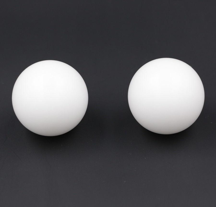 44.45mm ( 1.75'' )  2pcs  Delrin Polyoxymethylene ( POM ) Solid Plastic Bearing Balls Precision Sphere