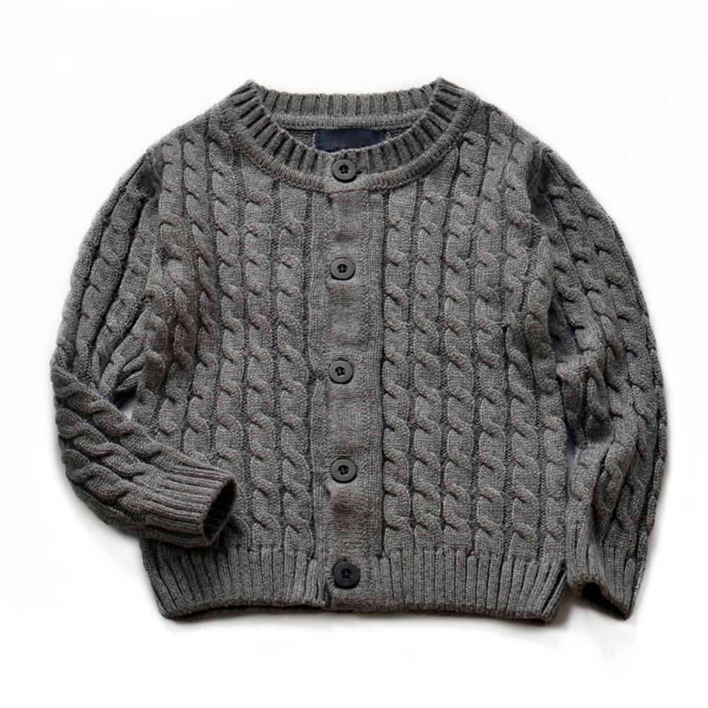 YY-0708 Autumn Kids Sweater Spring Baby Boys Girls Long Sleeve Knitted Cardigan Sweater Kids 2-8T 5 color Cotton Outer Wear stylish cowl neck long sleeves color match batwing irregular design cotton blend sweater for women