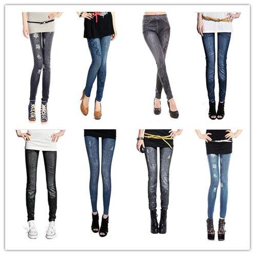 Women Comfortable Skinny Pants Denim   Leggings   Fashion Women Sexy Stretchy Slim Jeans Skinny   Leggings