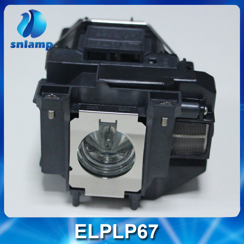 180 Days Warranty projector lamp ELPLP67 V13H010L67 with housing for EB S12 EB W12 EX3210 EX5210