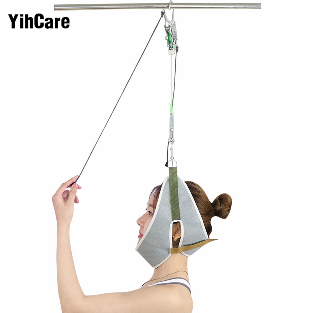 YihCare Hook Type Cervical Traction Neck Massager Device Chiropractic Stretching Cervical Spondylosis Treatment Neck Pain ReliefYihCare Hook Type Cervical Traction Neck Massager Device Chiropractic Stretching Cervical Spondylosis Treatment Neck Pain Relief