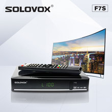 SOLOVOX F7S TV Box Satellite TV  Receiver Support USB Home Cinema Support Biss Key WEB TV LIVE MARS + UK LIVE channel