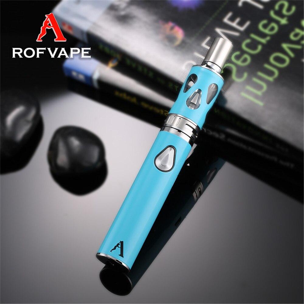 Rofvape 40 w Vapore Enorme Sigaretta Elettronica Mini Vape Penna 2.4 ml 1500 mah Puro Gusto Elettronico Narghilè Abbastanza Fumo aiuto