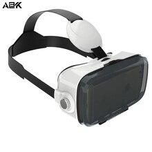 Albk Z4 мини 3D VR Очки гарнитура частный Театр игры видео с емкостный сенсорный кнопка для 4.7-6.2 дюймов Смартфон