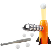 Baseball Pitching Machine Toys Training Pitcher Batting Practice Equipment For Children Outdoor Toys ABS