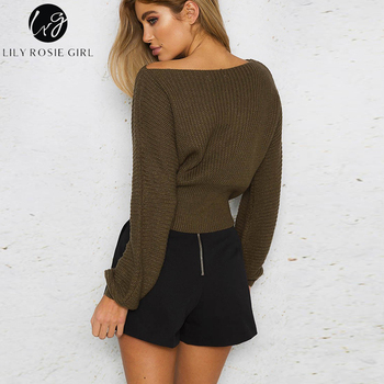 Lily-Rosie-Lace-Up-Knitted-Sweater-3