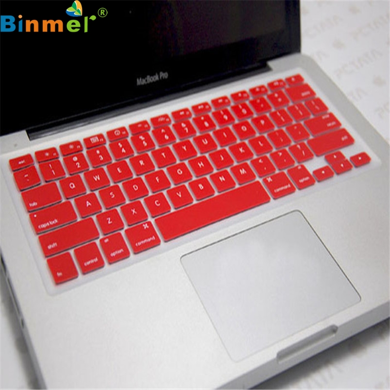 Binmer заводская цена силиконовая клавиатура кожного покрова для Apple MacBook Pro воздуха Mac Retina 13.3 6314b13