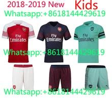 48ea8d4d2 Arsenalis kids KIT 2017 2018 Soccer Jersey sanchez OZIL ALEXIS RAMSEY  WILSHERE 17 18 GIROUD LACAZETTE GIROUD Football Shirts