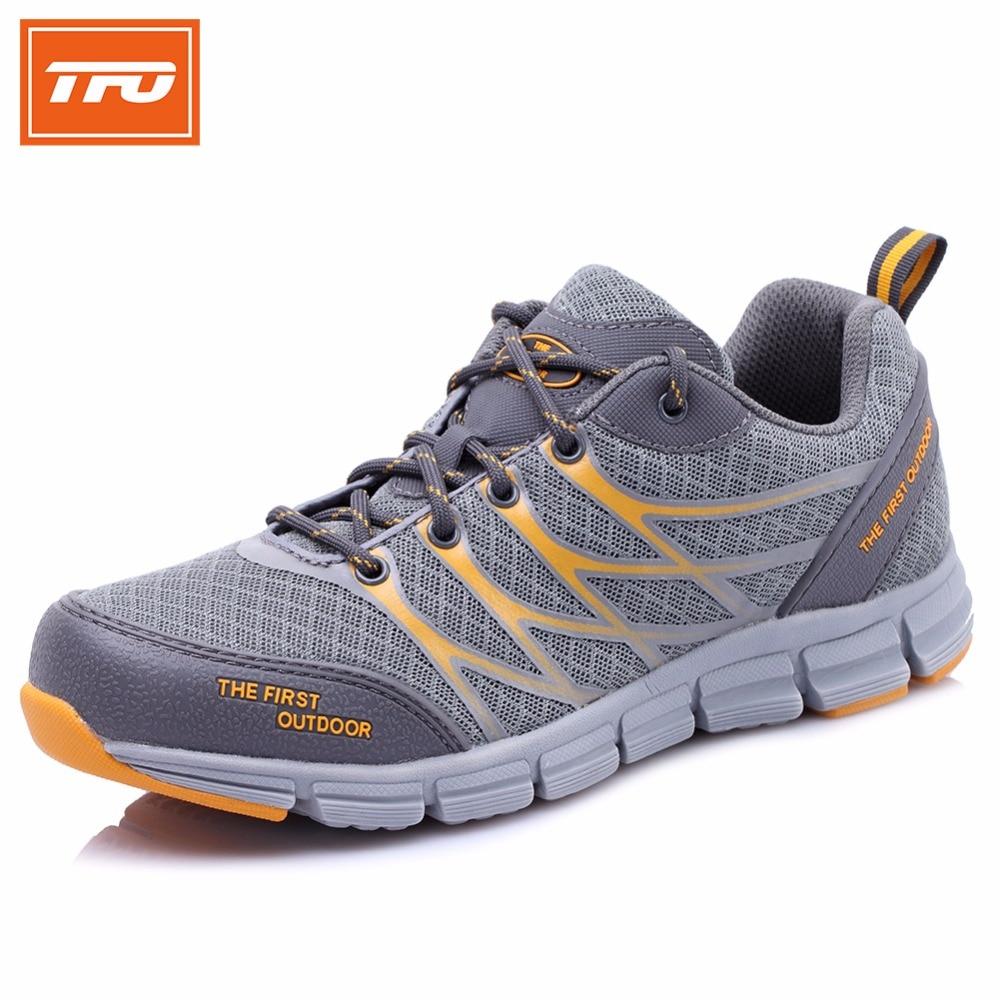 TFO Running Shoes For Men Mesh Breathable Light Sneakers City Jogging Trail Runn