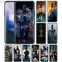 the mortal instruments city of bones Phone Case for Oneplus 7 7Pro 6 6T Oneplus 7 Pro 6T Black Silicone Soft Case Cover