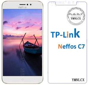 For TP-Link Neffos C7 Tempered Glass 9 H Premium Safety Protective Glass Film On