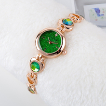 Women Bracelet Watches Vintage Ladies Rhinestones Jewelry