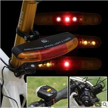 New Arrival Bike Bicycle Rear Tail Light Bike Bicycle Red Back Light Safety Warning Flashing Lights Free Shipping