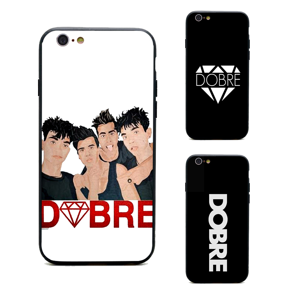 check out 5be87 7b438 US $1.64 34% OFF|DOBRE shopdobre.com phone cases TPU+PC Black covers for  iPhone X 6 6s 7 8 plus 5 5s se for Apple best High Quality Housing-in ...