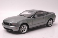 1 18 Diecast Model For Ford Mustang GT 2010 Grey Alloy Toy Car Collection Gifts