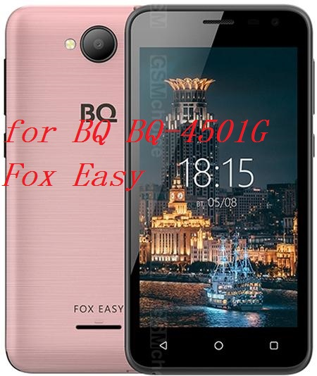 Smartphone 9H Tempered Glass For BQ BQ-4501G Fox Easy GLASS Explosion-proof Protective Film Screen Protector Cover Phone
