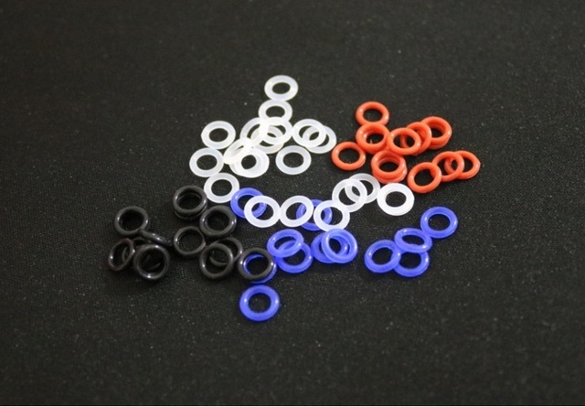 MX Rubber O Rings Switch Dampeners DBlack Clear Red Blue Cherry MX ...