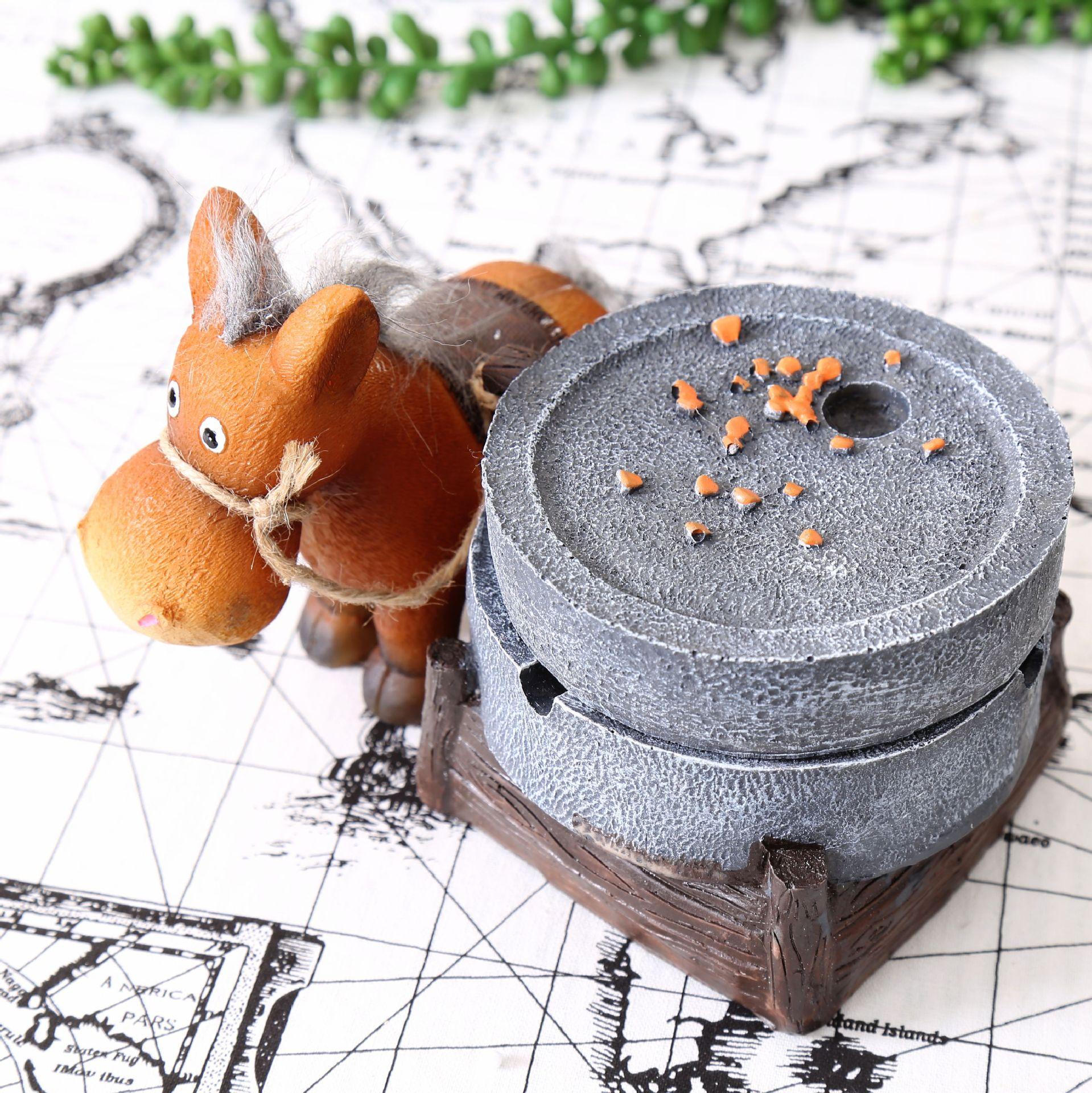 Donkey ornaments - Aliexpress Com Buy Staygold Donkey Ashtray Chinese Characteristics Gift Personalized Gift Resin Ornaments Cigar Ashtray Cendrier Cinzeiro Bonecos From