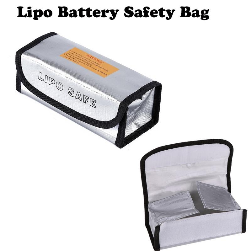 Wholesale OCDAY Lipo Battery Safety Bag Lipo Battery Guard Bag Charge Sack Battery Protection Bag for LiPo Battery 185*75*60mm вольтметр 50v 50a lifepo4 lipo tf01n