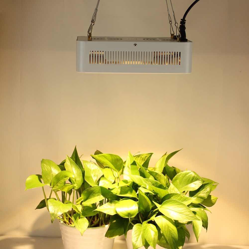 400 Вт CREE чип, COB + объектив полный спектр светодиодный свет для теплицы гидропонный комнатный гроутент коммерческие медицинские растения роста