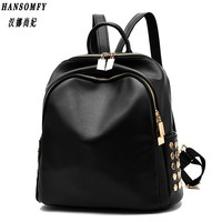 100 Genuine Leather Women Backpack 2017 New Backpack Spring And Summer New Students Large Size Korean
