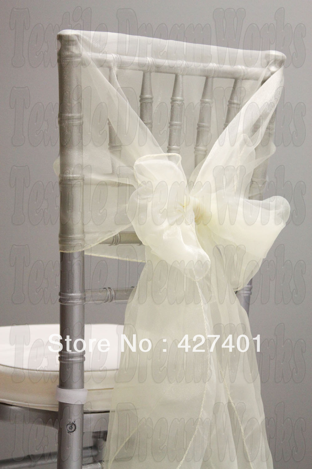 Hot Sale Ivory Snow Organza Chair Hoods / Chair Caps / Wrap Tie Back / Chair Sash For Wedding Eventu0026Partyu0026Banquet Decoration-in Sashes from Home u0026 Garden on ... & Hot Sale Ivory Snow Organza Chair Hoods / Chair Caps / Wrap Tie Back ...