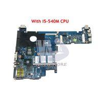 NOKOTION 598764 001 LA 5251P Main Board For Hp Elitebook 2540P Laptop Motherboard i5 540M CPU GMA HD DDR3