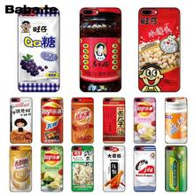 Babaite Cina Laoganma Kelinci Putih Toffee DIY Dicat Aksesoris Case untuk iPhone 5 5Sx 6 7 7 Plus 8 8Plus X XS Max XR(China)