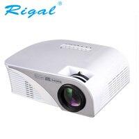 Rigal проектор rd805b 1200 люмен светодиодный мини wifi проектор 1080 P 3D проектор, видео дома Кино HDMI USB VGA AV android проектор