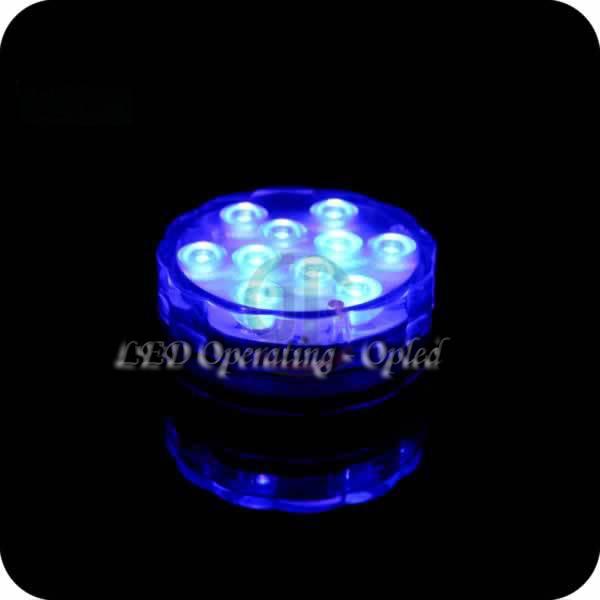 Mini UFO Underwater LED Aquarium Submersible Light RGB Remote Control  5