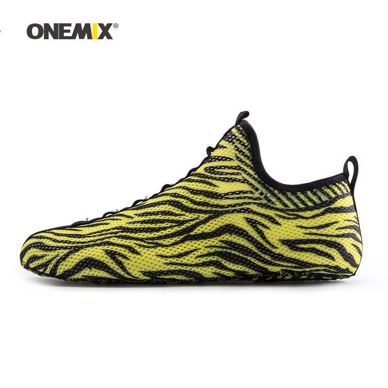 2019 hommes pataugeant en amont chaussette chaussures pour femmes jogging pas de colle baskets intérieur Yoga sport chaussure en plein air Trekking marche pantoufles - 3