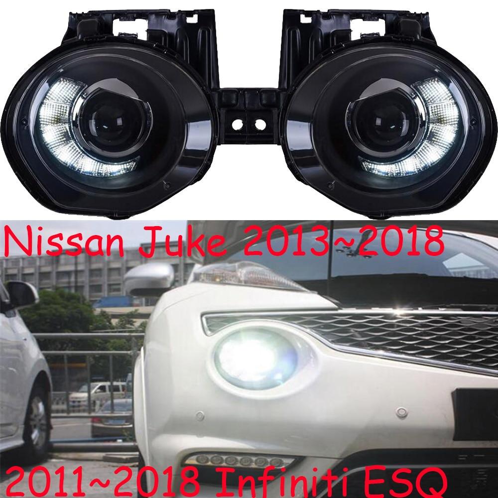 2pcs head lamps car styling For 2013-2018 Nissan Juke headlights 2011~2018  For Infiniti ESQ h7 xenon led drl hid kit head lights