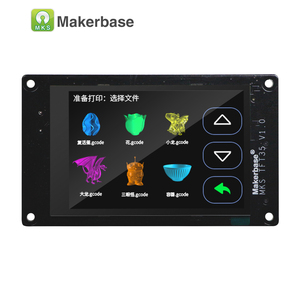 Image 5 - Makerbase MKS TFT35 V1.0 Touch Screen Smart Display Controller 3d Printer Parts  3.5 Inch Wifi Wireless Control Preview Gcode