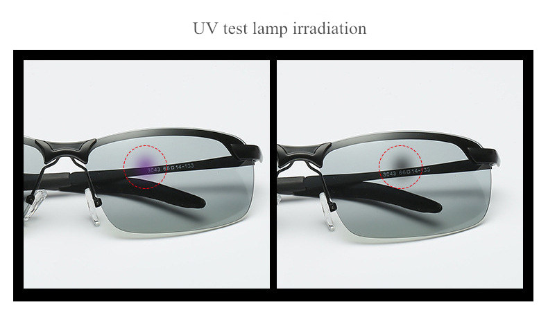 UVLAIK Classic Driving Photochromic Sunglasses