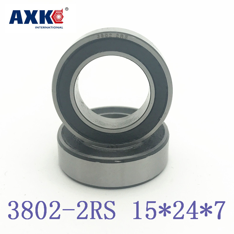 2019 Rodamientos Rolamentos Axk 2pcs 3802-2rs-w 3802 Bicycle Suspension Pivot Point Bearing 3802-2rs W (15x24x7mm) Bike Repair2019 Rodamientos Rolamentos Axk 2pcs 3802-2rs-w 3802 Bicycle Suspension Pivot Point Bearing 3802-2rs W (15x24x7mm) Bike Repair