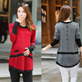 New autumn Maternity sweaters coat and outerwear knitted sweater pregnant clothing free shipping