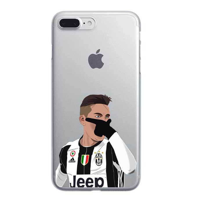 Thin Soft TPU Football Clear Phone Cases Coque for iPhone 5 5S SE 6 6S 7 7 Plus for Samsung S7 Edge Winner Messi Ronaldo Dybala