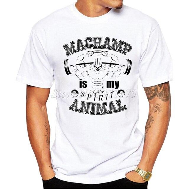 2019 男性の Machamp 精神デザイン Tシャツ男性のファッションクールなヒップスタープリント夏の Tシャツトップス