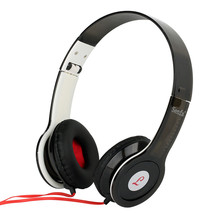 Foldable 3.5mm Wired Headphone Noise Reduction Casque Audio With Microphone Sport Music Head Phones For PC Computer Mobile Phone