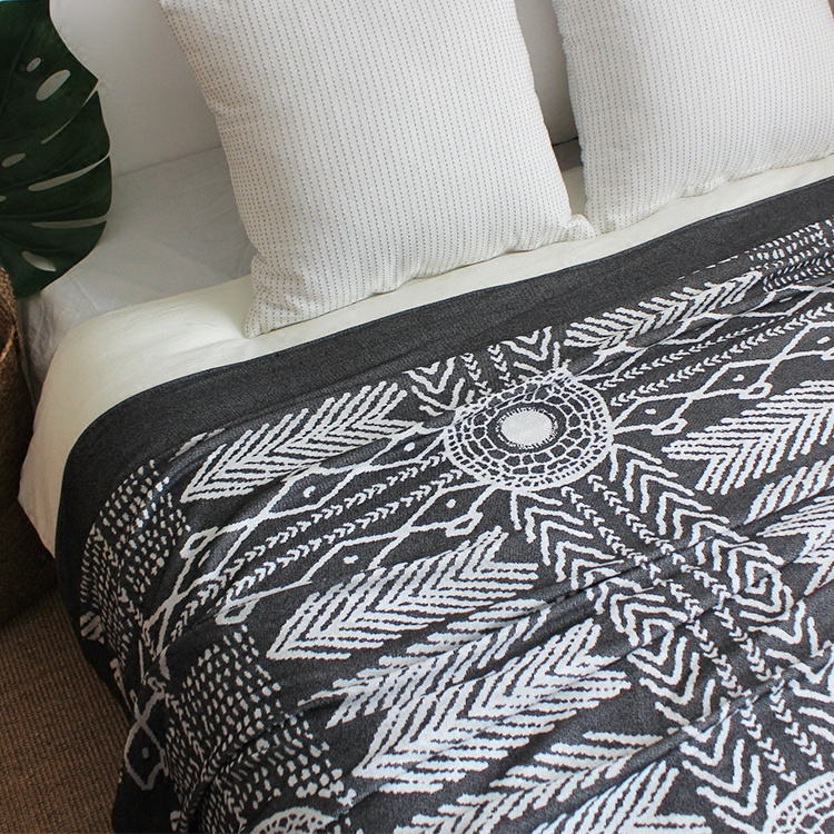 Pattern Modern Geometric Striped Plaid Nordic American Style Bedding Couch  Cover Thread Towel Grey Throw Blanket Sofa Down Throws Lambswool Blanket ...