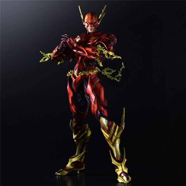25cm The Flash PVC Action Figures Collection
