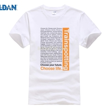 d1b9802fc287 Cool Slim Fit Letter Printed Choose Life Trainspotting Middle Aged T Shirt  Personalized(China)
